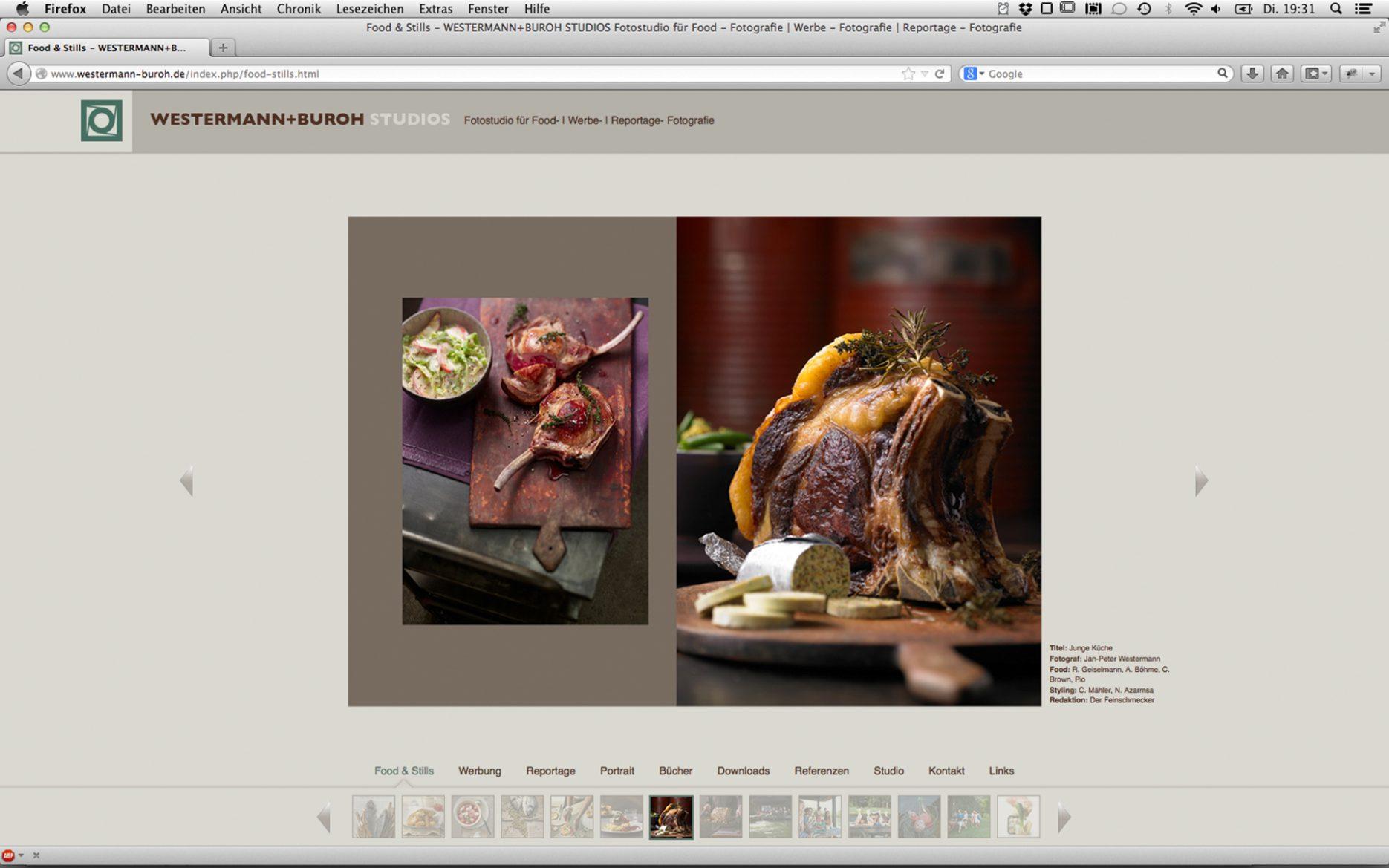 Grafik Design Internetpräsenz Titel