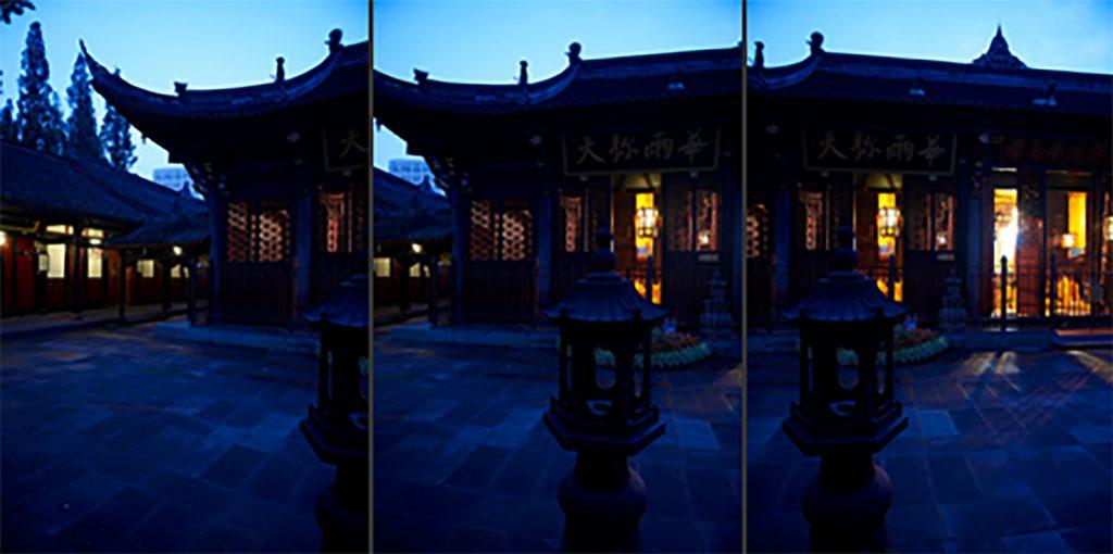 Fotografie Tempel 1