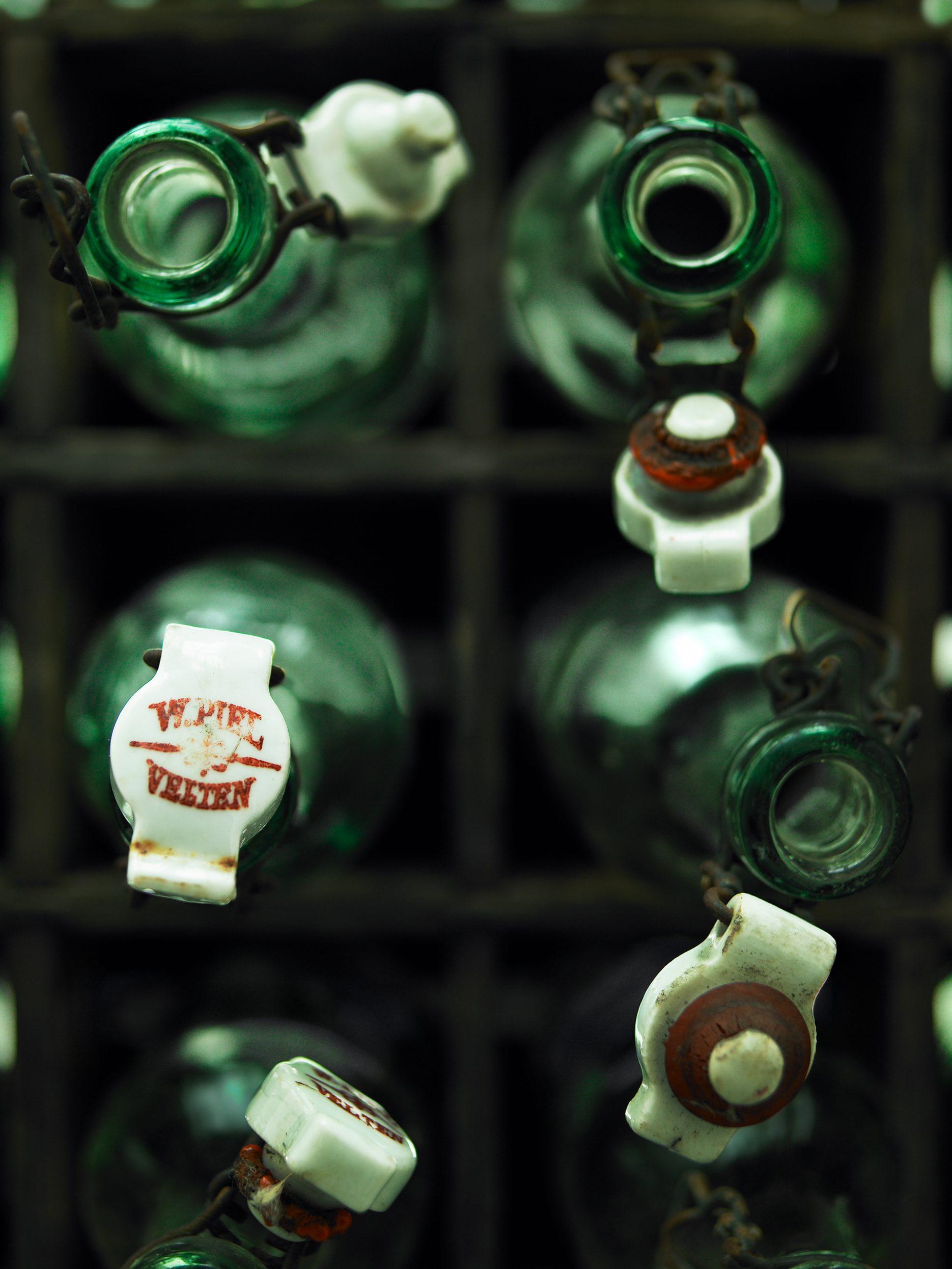 Bildbearbeitung Bierflaschen