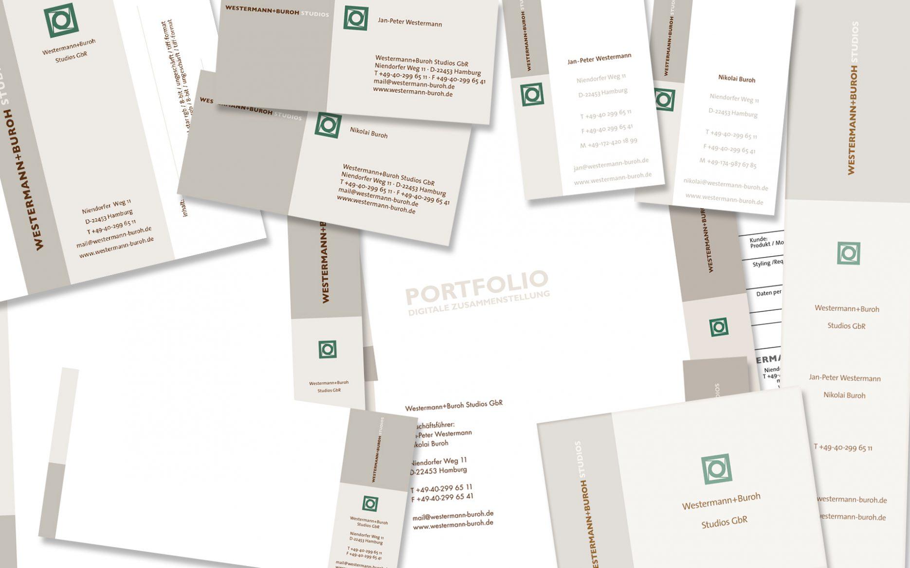Grafik Design Geschäftsausstattung Titel