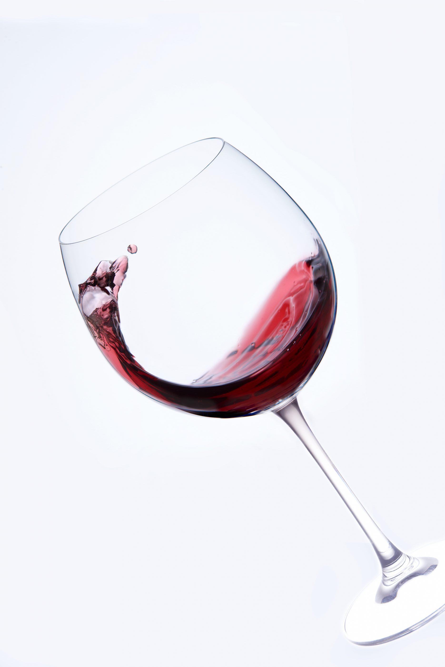 Bildbearbeitung Rotwein