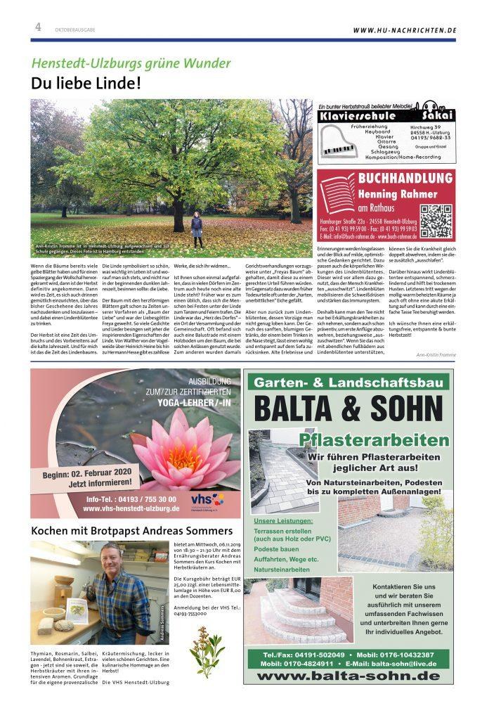 Grafik Design Lokalzeitung Seite 2