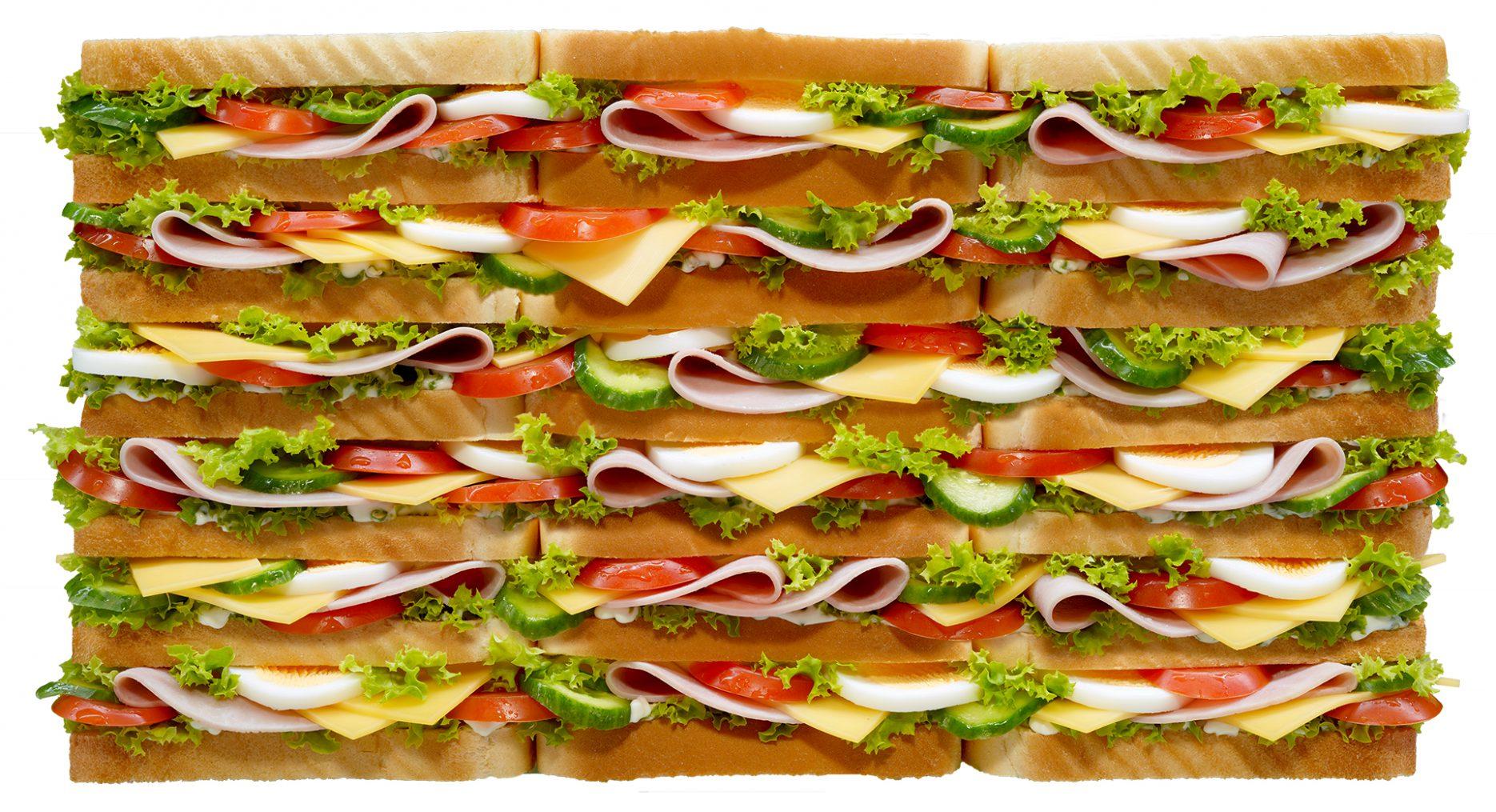 Bildbearbeitung Sandwich